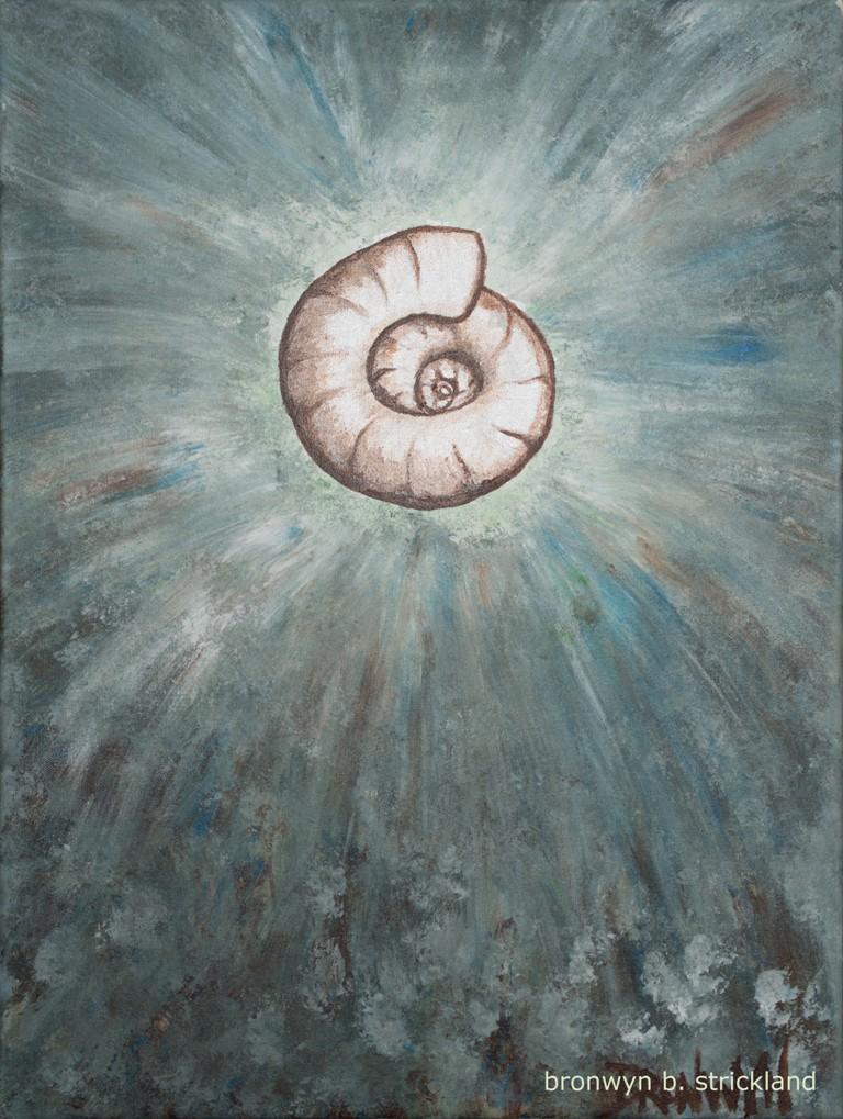 """""""Simmer Down""""  2007, Acrylic on canvas 18"""" x 24"""""""