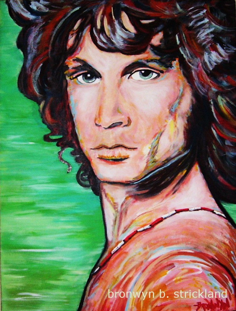 """Morrison""  2005, Acrylic on canvas 18"" x 24"""