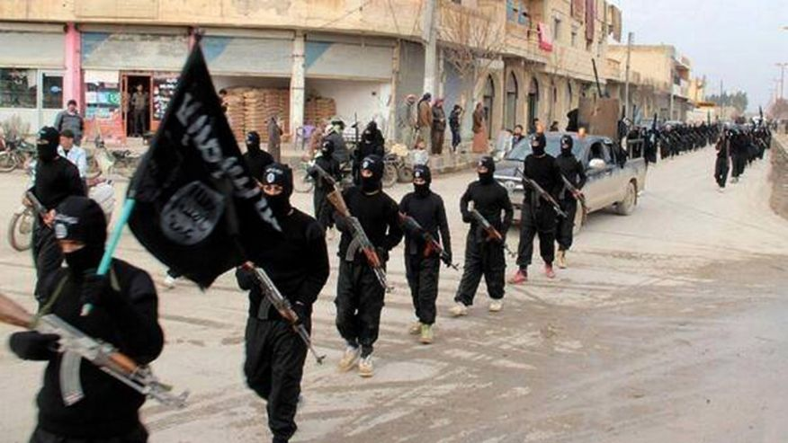 ISIS crusade across a debilitated Iraq/ (Associated Press 2014)