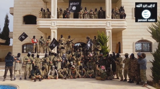 ISIS recruitment stretches across the Middle East reaching countries in Europe and throughout Africa/ (Associated Press 2014)