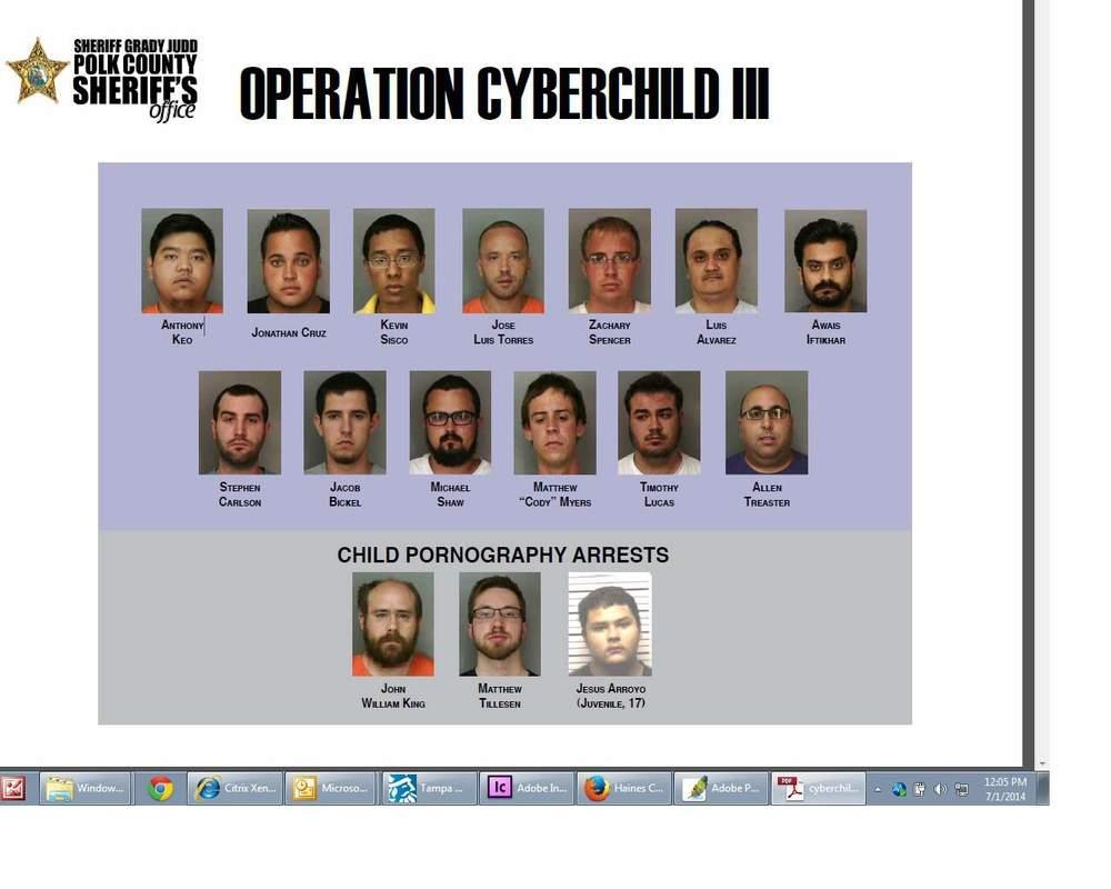 Operation Cyber Child III