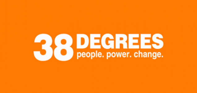 38 Degrees is a community of millions of ordinary people who live all across the UK. We work together on the issues we all care about to bring about real change.
