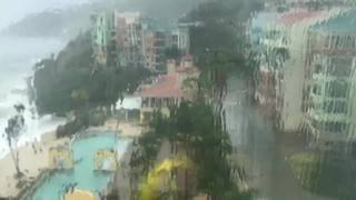 Hurricane Irma has hit Tortola and the smaller British Virgin Islands