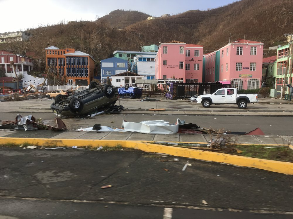 Our team on Tortola had braced themselves for more damage to be inflicted on top of the devastation wreaked by Hurricane Irma.