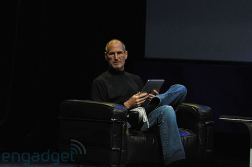Steve Jobs ipad keynote