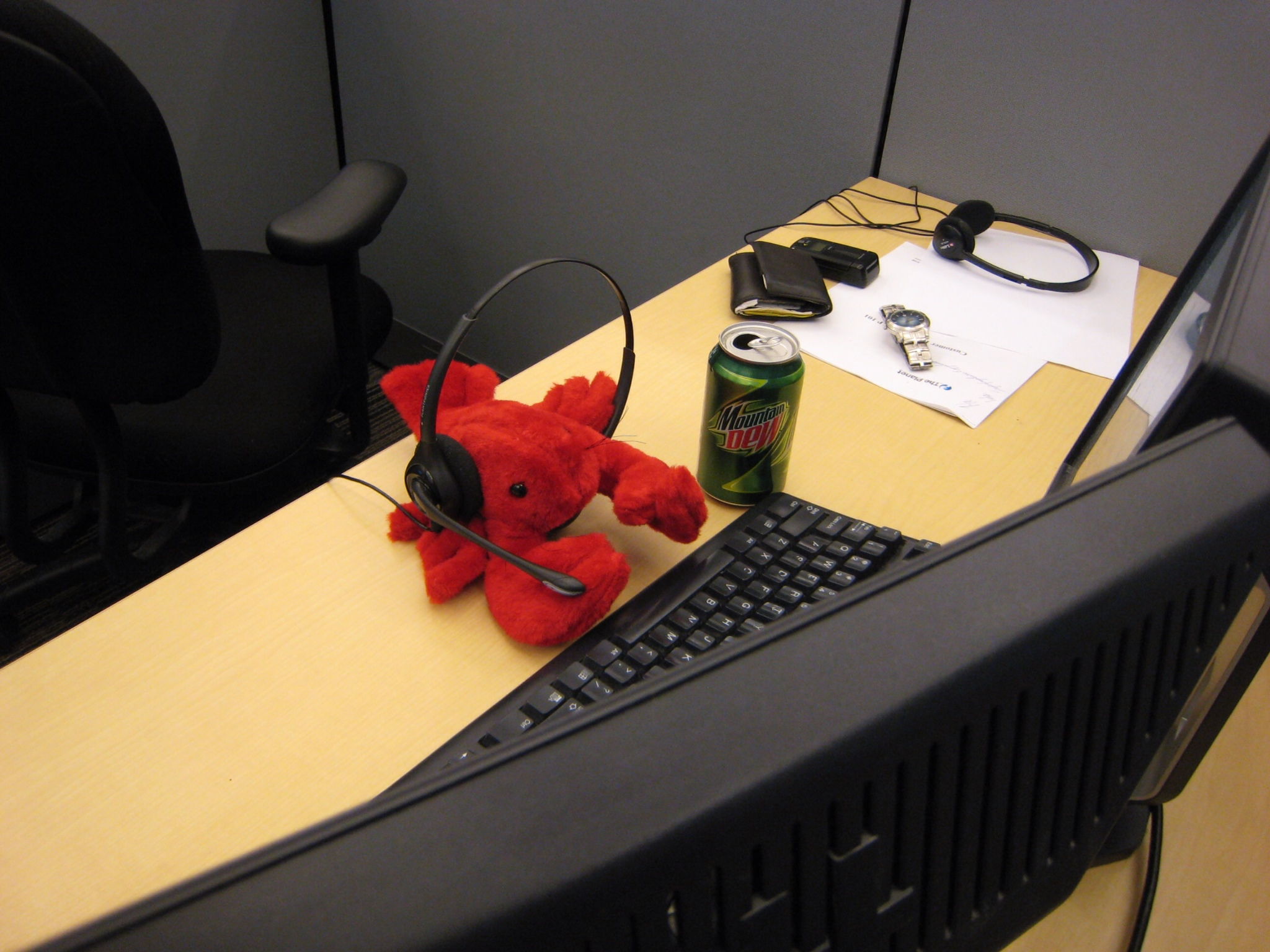 Technical Support get a bad rap. I've not helped with this picture.