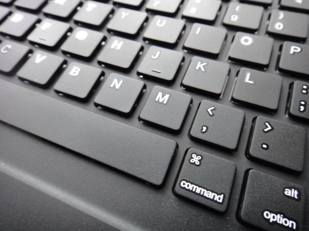 The command key allows for keyboard-shortcuts like cut, copy and paste.