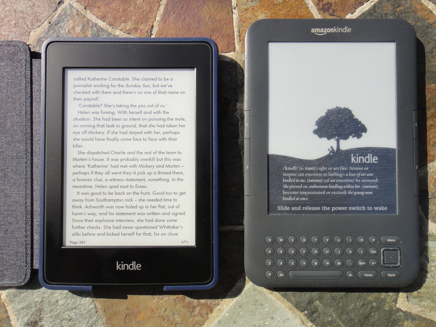 Amazon Kindle Keyboard Vs PaperWhite — Dependent on Gadgets