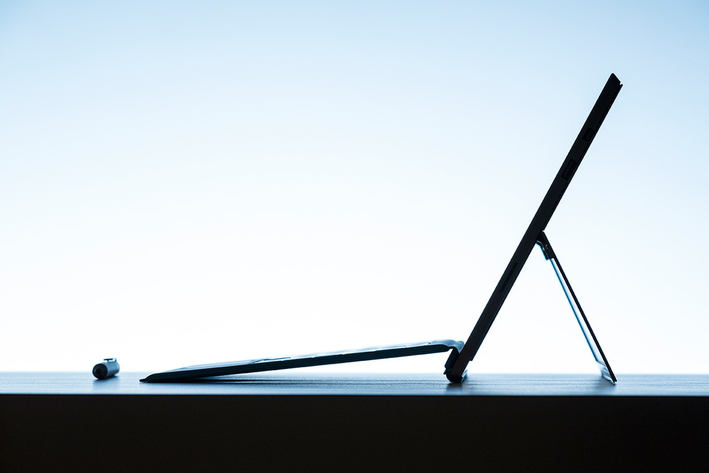 Microsoft's third attempt at a hybrid tablet/laptop is a much more elegant affair