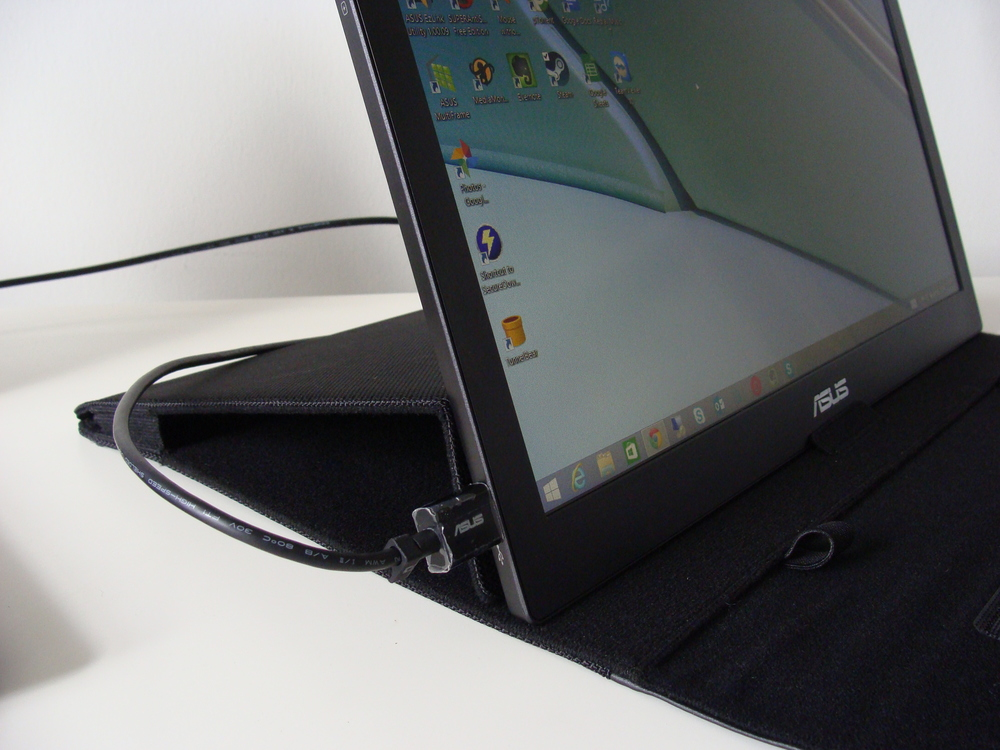 Portable Laptop Screen : A portable second screen for your laptop the asus mb b