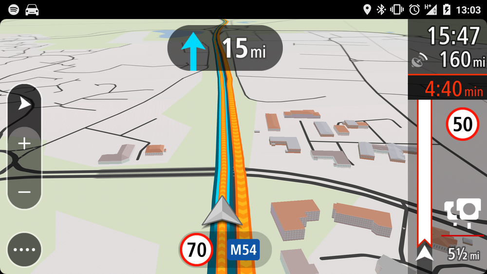3D Buildings on the TomTom