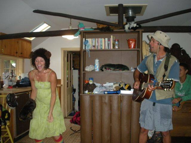 J&P back in 2010 at a mountain birthday party!
