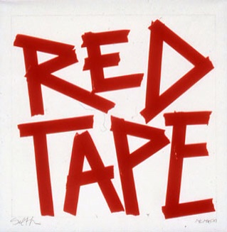 Red tape is more than a vessel for human motives; it is an actor that makes particular articulations possible.