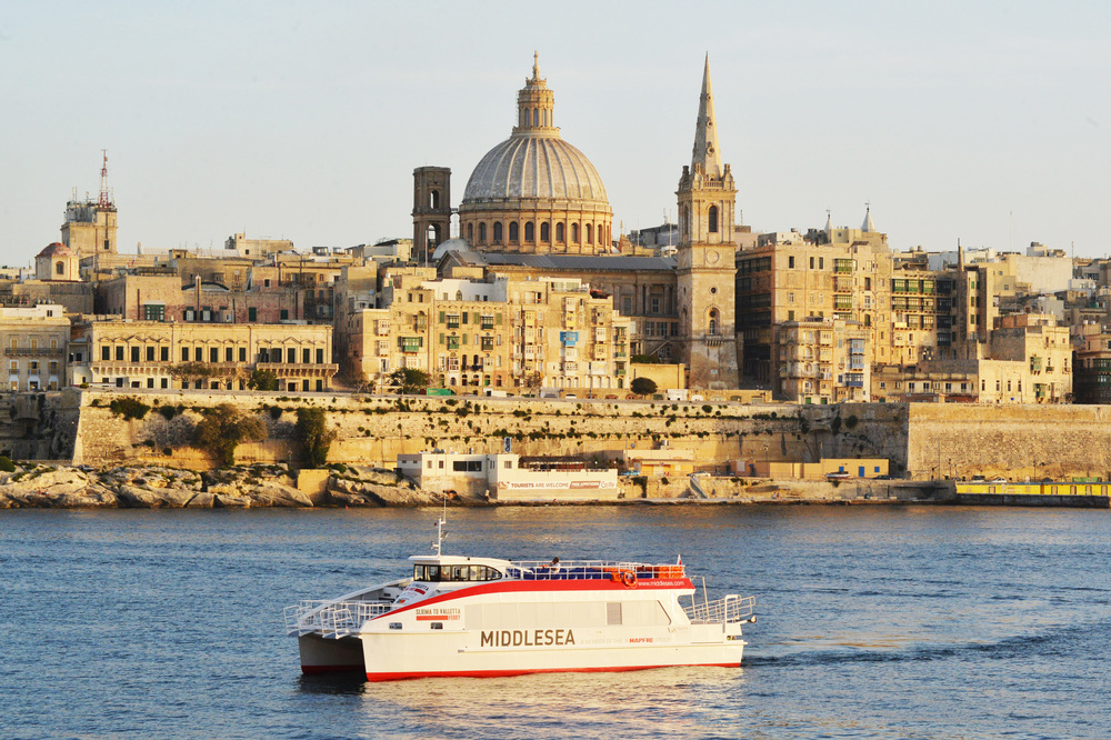 19m Aluminium ferry built for operation in Malta.