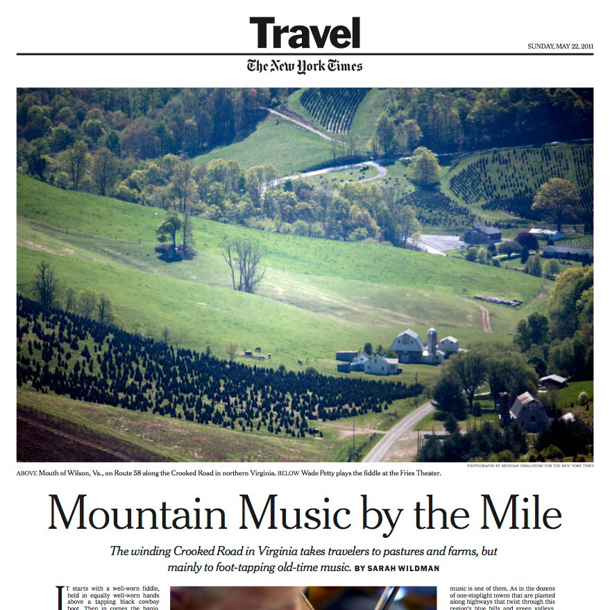 On Virginia's Crooked Road, Mountain Music Lights the Way