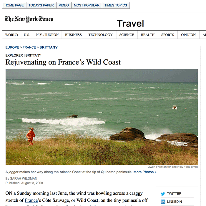 Rejuvenating on France's Wild Coast
