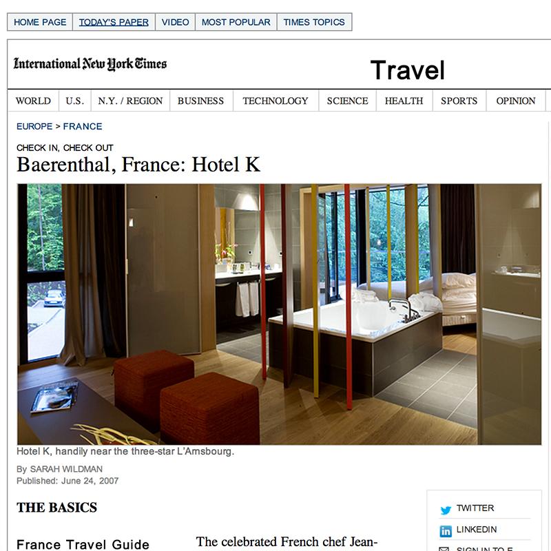 Baerenthal, France: Hotel K