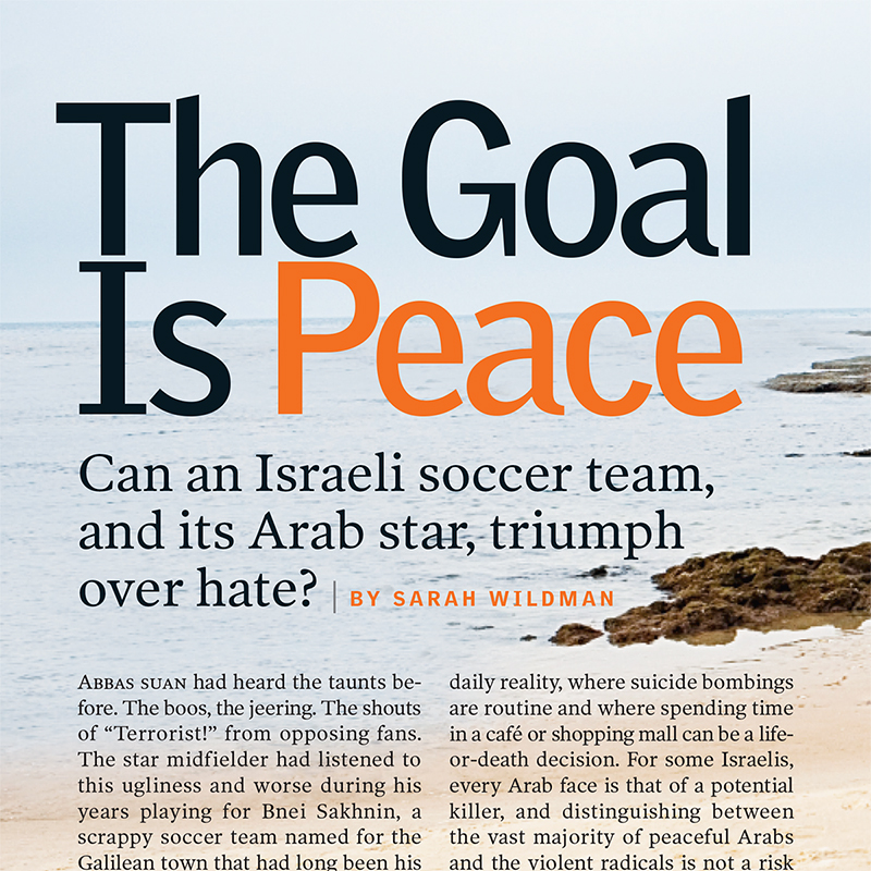 The Goal is Peace
