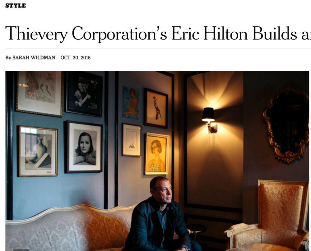Eric Hilton DC Nightlife in NYT