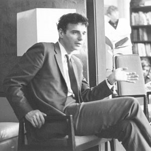 Ralph Nadar speaks at a Hinckley Forum.