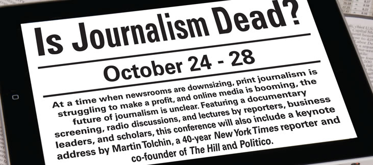What is the future of journalism?