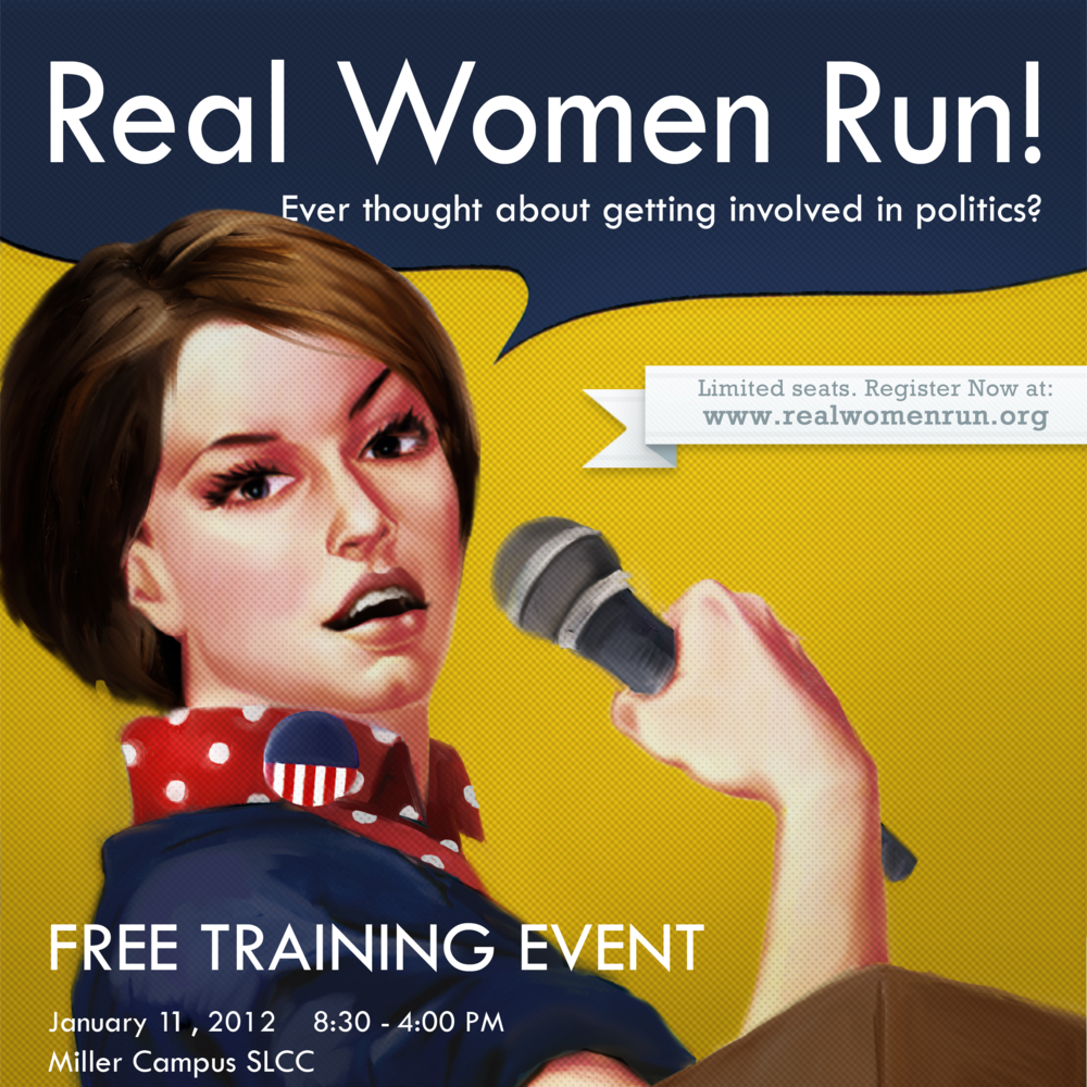 The Hinckley Institute was a founding partner in launching Real Women Run, a non-profit committed to empowering women to run for public office.