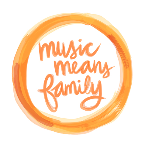 music means family
