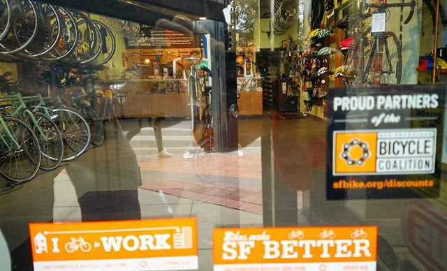 Market Street Cycles is down with the San Francisco Bicycle Coalition. @sfbike #discountpartner