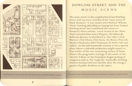 FieldWorks Field Guide, 2004, Project Row Houses, Karen Atkinson, Nancy Ganecheau, Jane Jenny. Page 9-10.
