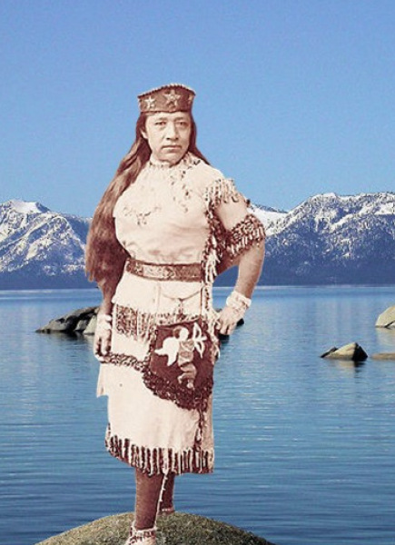 Women In Tough Terrain, Karen  Atkinson, 2013 for Detours: Kings Beach: Sarah Winnemucca front