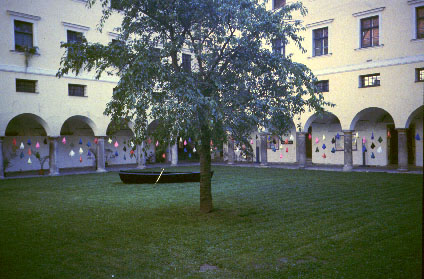 Installation of Fesestrae Reliquian: in memory in Graz, Austria