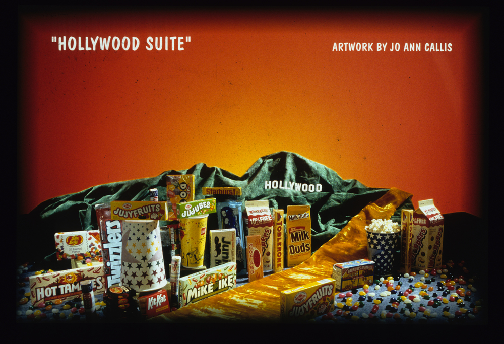 "Jo Ann Callis, ""Hollywood Suite"",  Projections: intermission images"