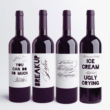 breakup wine