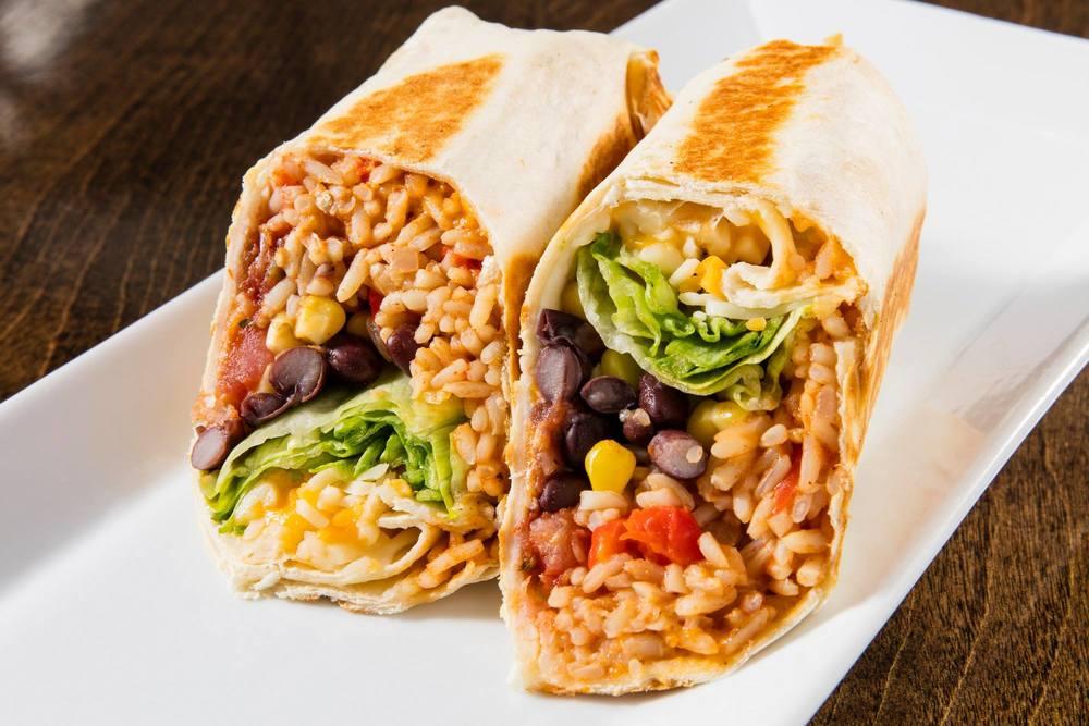 El burrito végétarien