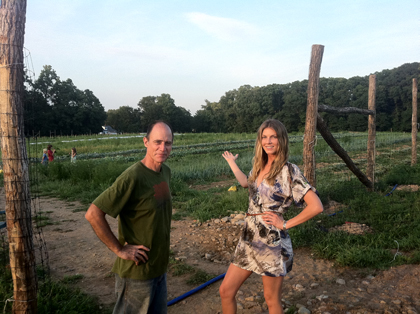 After at Cropsey Farm, with John Mc Dowell, Founder of The Rockland Farm Alliance.