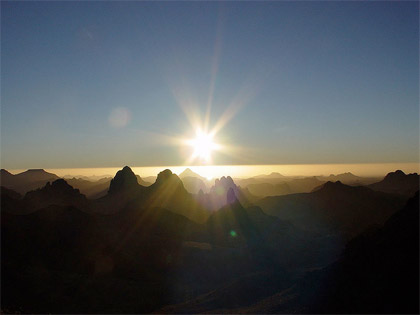 Photo:Sunrise from the Asskrem, by Angeoun