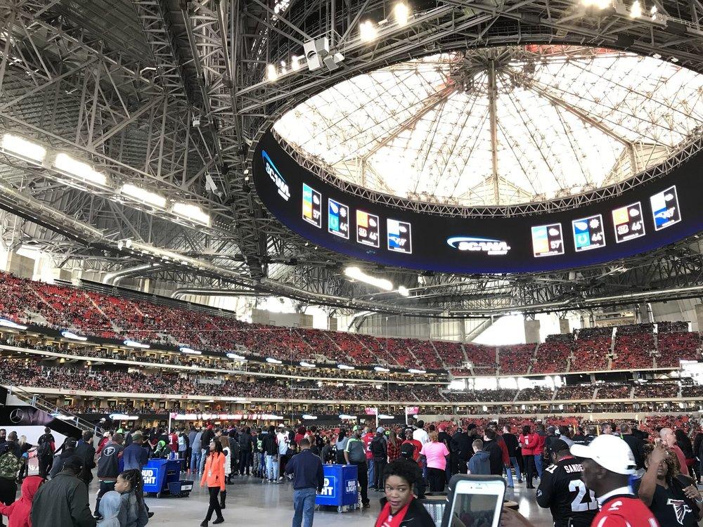 Stadium Lobby