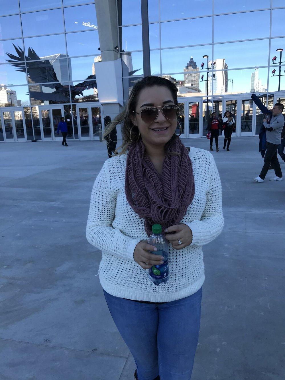 Corinna at Mercedes Benz Stadium