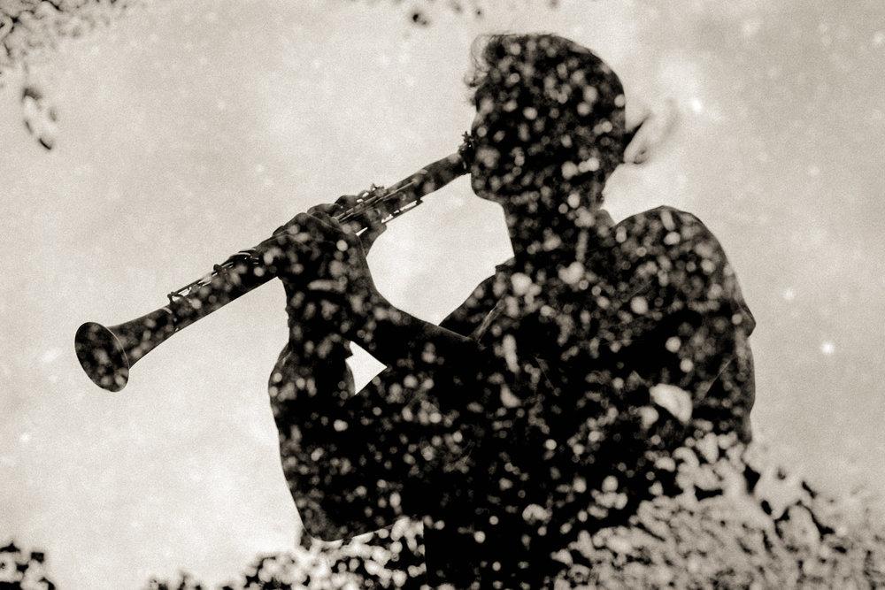 Milos Bjelica, clarinetist