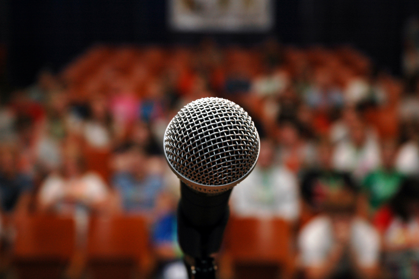 Speak Up--Speak Out--Expose Yourself  (Overcoming The Fear Of Public Speaking)