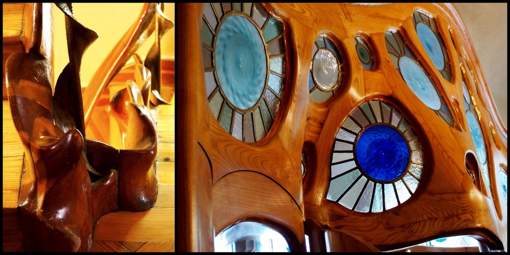 Seriously, look at this. Gaudi gets all the credit for designing it, but who has the mastery to pull it off? Oh just no one worth mentioning...