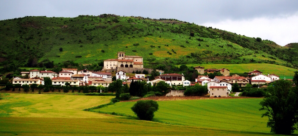 picturesque villages dot the mountains on our drive