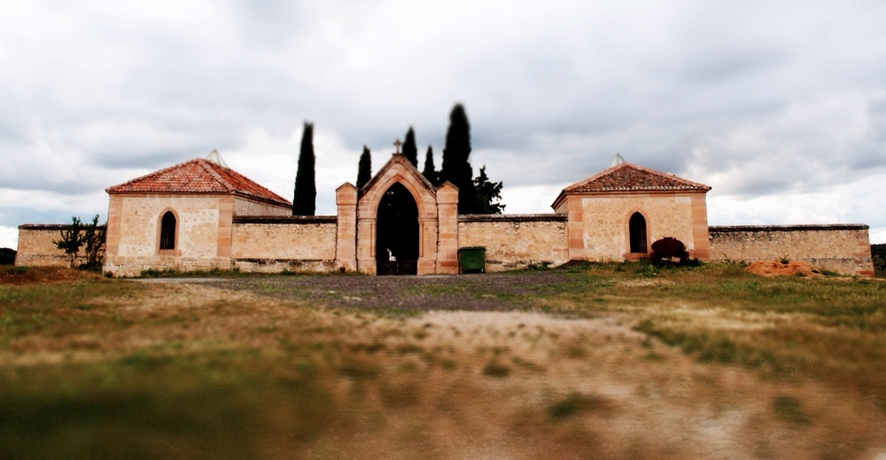 The church that morphed into a cemetery.