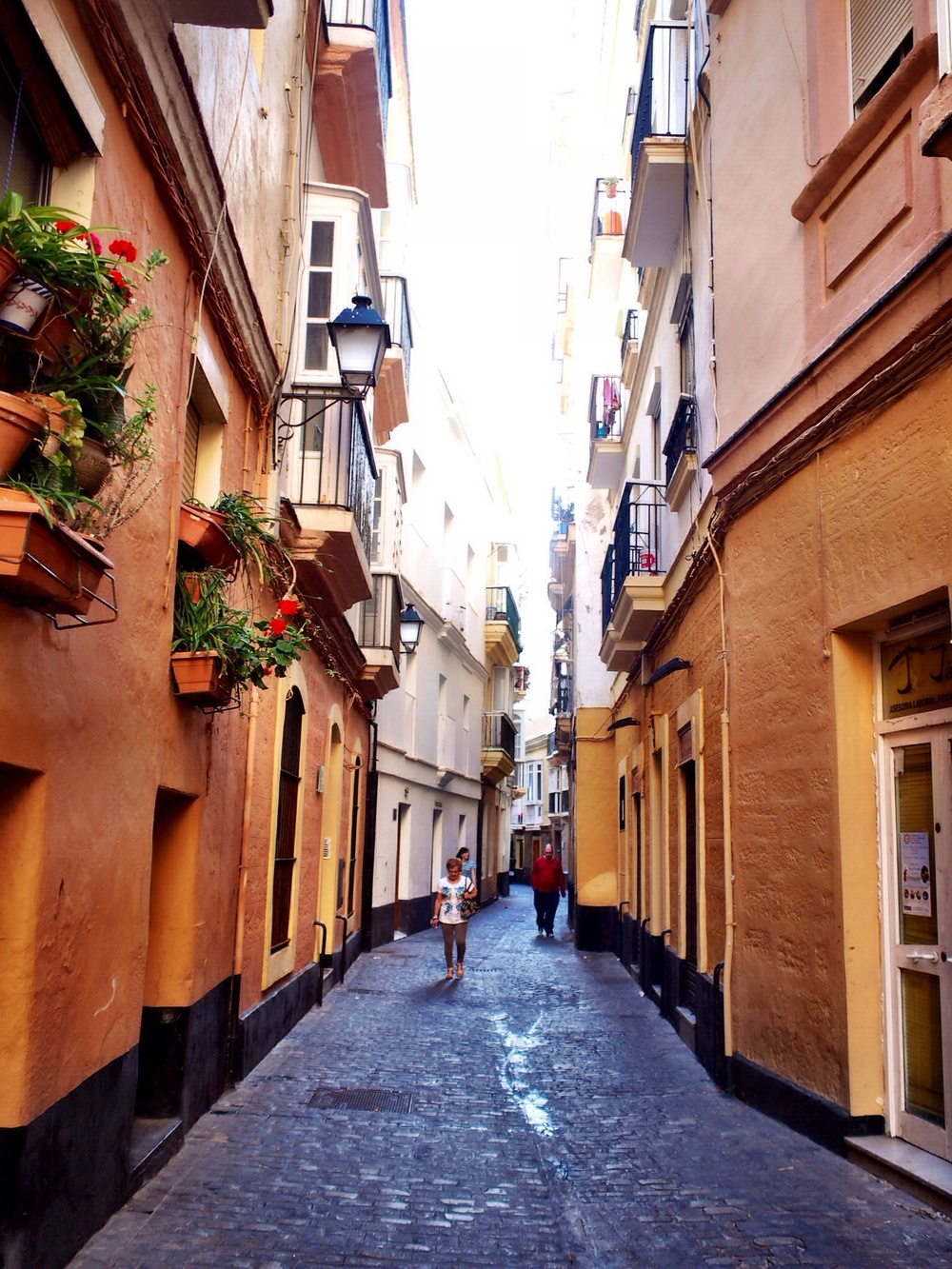 Old quarter streets