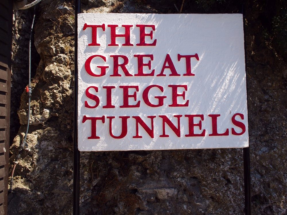 I'm pretty sure they erected this sign after the enemies retreated.