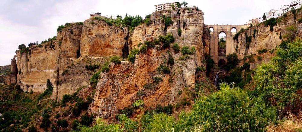 Infamous Ronda cliffs