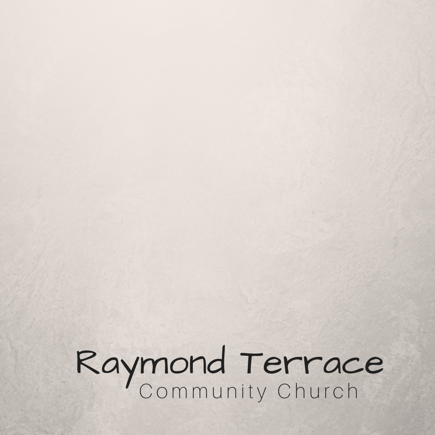 Sermon Podcast - Raymond Terrace Community Church