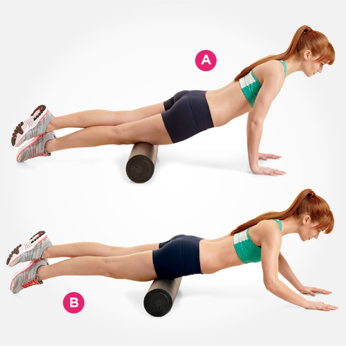 Advanced Roll     Legs are stacked, rolling one leg at a time.