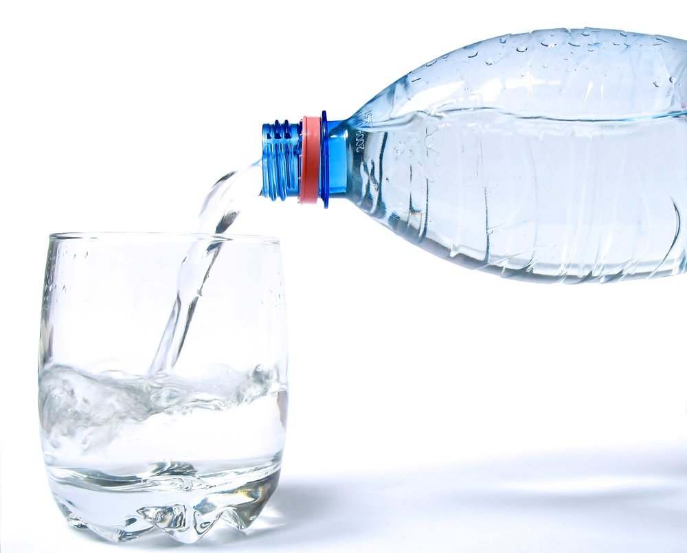 Drink water - Drink adequate amounts of water to toxins away. This will give you dual benefits of a glowing skin and a flat tummy. Women should drink around 90oz a day, and men should drink around 120oz. On hot days be sure to drink even more.