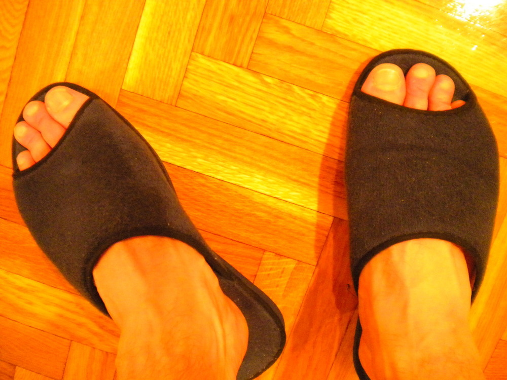 House Slippers: Admit It, You're Jealous